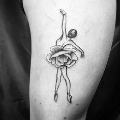 Ballerina tattoo