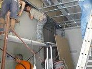 Γυψοσανίδες - τοποθέτηση με ακρίβεια χιλιοστού (laser) Ladder, Stairway, Ladders