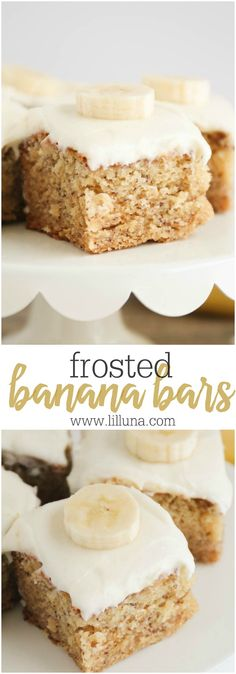 Cheese frosted Banan