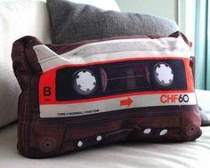 Picture of Retro Cassette Pillow – $21
