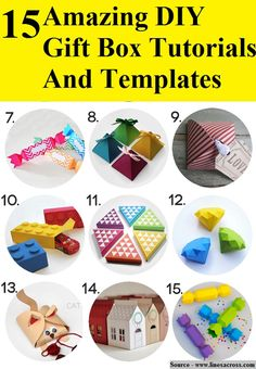 15 Amazing DIY Gift Box Tutorials And Templates