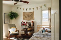 See this camping inspired children's room one the west elm blog!