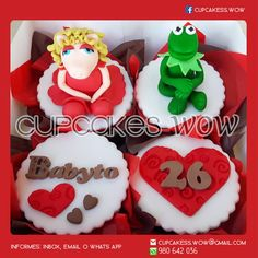 Mejores 24 Imagenes De Cupcakes Aniversario Amor En Pinterest
