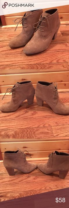 NEW BCBGeneration Delphine Booties Size 7.5 Brand new without box! BCBGeneration tan Delphine booties! Size 7.5. More item details in last picture :) no trades! Make me an offer 😊 BCBGeneration Shoes Ankle Boots & Booties
