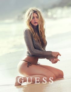 Gigi Hadid Fronts Guess' Spring 2015 Campaign | StyleList Canada