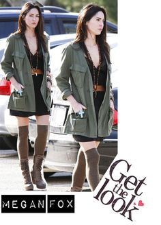 Star Style: Das Outfit von Megan Fox - The Style Of My Life #StarStyle #Celebrity #TheStyleOfMyLife #Damenmode #Modeblog #Mode