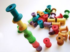 Stack A Spool  Big Kid Edition  A Montessori and by MamaMayI, $26.00