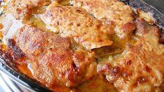 Zapečené kotlety s najchutnejšou cesnakovou omáčkou – famózna chuť a rýchla príprava - snadnejidlo Pork Recipes, Cooking Recipes, Croatian Recipes, Sauce, Us Foods, Relleno, Casserole Dishes, Quiche, Main Dishes