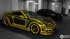 There's no question that the Nissan GT-R is a badass car. But unlike many supercars, it's much more about the steak than the sizzle. But that didn't stop at least one GT-R owner in China from snazzing up their car. I present to you the electric yellow TRON GT-R.