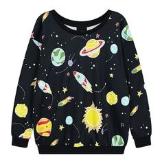 Harajuku Earth meteorite space rocket Graffiti Sweatshirts sold by Harajuku fashion. Shop more products from Harajuku fashion on Storenvy, the home of independent small businesses all over the world.