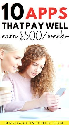 Looking for highest paying apps that make money? Grab the list of 45 such apps and start earning money TODAY. Click here to start. Make Side Money, Make Money Today, Make Money Fast, Free Money, Fast Cash, Earning Money, Earn Money Online, Online Business Opportunities, Business Ideas