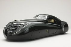 Another Streamline Car from the 30's, this is a 1939 Duesenberg Coupe Simone Midnight Ghost...