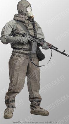 Cthulhu, Post Apocalypse, Nuclear Apocalypse, Nuclear War, Apocalypse Character, Plague Mask, Hazmat Suit, Armor Clothing, Modern Warfare