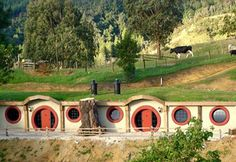 The Hobbit Motel, Woodlyn Park, New Zealand... I freely admit to being a card carrying member of the Nerd Herd.