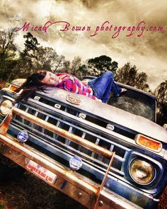 senior photography with trucks | senior photography, old trucks