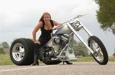 I'll have the trike Harley Davidson Motorcycles, Custom Motorcycles, Custom Street Bikes, Custom Trikes, Motorcycle Engine, Motorcycle Rides, Reverse Trike, Kart, Bicycles
