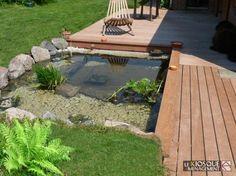 Plus de 1000 id es propos de bassin sur pinterest tangs tangs de pisciculture et bassins - Jardin avec terrasse et bassin aulnay sous bois ...