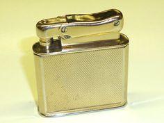 COLIBRI MONOPOL AUTOMATIC PETROL LIGHTER  - FEUERZEUG - 1952 - MADE IN GERMANY Sammeln & Seltenes:Tabak, Feuerzeuge & Pfeifen:Feuerzeuge:Alt (vor 1970)