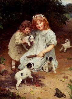 Arthur John Elsley (1860 – 1952, English)