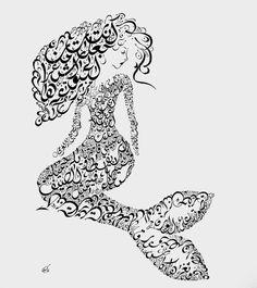 Items similar to Nizar Qabbani Poetry - Arabic Calligraphy Art - Arabic Wall Decor - Arabic Gift - Arabic Calligraphy Mermaid - Love poem on Etsy Calligraphy Print, Arabic Calligraphy Art, Arabic Art, Arabic Poetry, Persian Poetry, Poetry Poem, Poetry Quotes, Middle Eastern Art, Islamic Posters