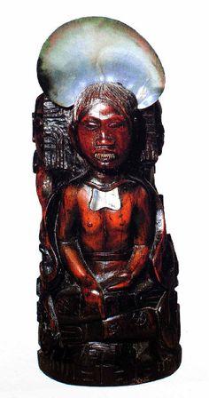 Paul Gauguin - Post Impressionism - Tahiti - Sculpture - Idole à la perle