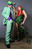 DC Comics Cosplay (The Riddler and Poison Ivy)