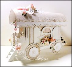 Wild Orchid Crafts: A circus wagon.