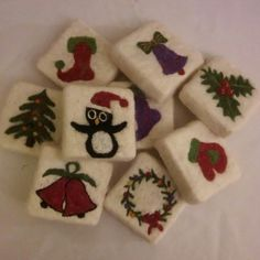 Felt Felt soap soap soap Wet felting Christmas Christmas Christmas Turkey Istanbul Source by SerpilAkardas The post Felt Felt soap soap Wet felting soap Turkey Istanbul Christmas & Christmas yılbaå appeared first on Soap. Christmas Soap, Felt Christmas, Christmas Crafts, Christmas Turkey, Wet Felting, Felted Soap, Felt Pictures, Needle Felting Tutorials, Home Made Soap