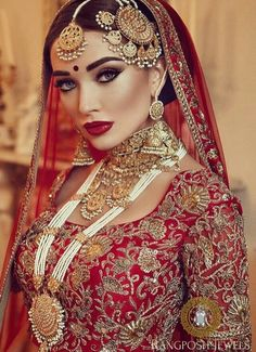 Kaniz Makeup :: Khush Mag - Asian wedding magazine for every bride and groom planning their Big Day Pakistani Bridal Makeup, Indian Wedding Makeup, Asian Bridal Makeup, Indian Makeup, Indian Beauty, Indian Wedding Jewellery, Indian Bridal Hair, Asian Bridal Jewellery, Pakistani Jewelry