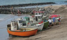 * Barcos de Pesca *  Dinamarca.