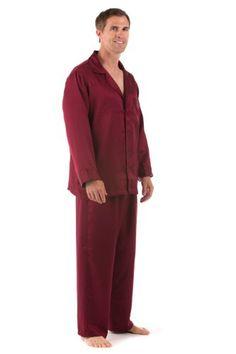 f9c18d6b3f95 Silk Pajamas Sleepwear Set For Men Duke Of Burgundy Medium Silk Sleepwear  Pajama Nightwear Robes Sets For Men For Winter Fathers Day Gifts Ideas Dad  ...
