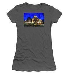 Women's T-Shirt (Junior Cut) - Le Negresco Hotel In Nice France