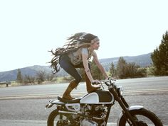 The Women's Motorcycle Exhibition — Leticia Cline