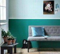 Farbgestaltung Im Wohnzimmer In Den Wandfarben: Pearl/Gelb/Taubenblau |  Farbgestaltung   Wohnzimmer | Pinterest