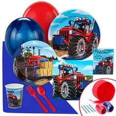 Farm Tractor Value Party Pack *** Details can be found by clicking on the image.