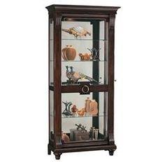 Elegant Howard Miller Corner Curio Cabinet