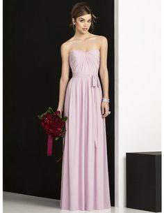 long bridesmaid dress, lavender bridesmaid dress, chiffon bridesmaid dress…