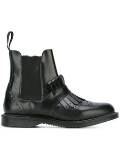 MARTENS 'Polished Smooth' ankle boots. #dr.martens #shoes