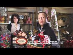Scot Haney of WFSB talks about the wonderful gift baskets available at Middlebury Consignment!