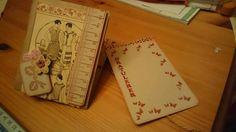 Pose-kort med mote-motiv