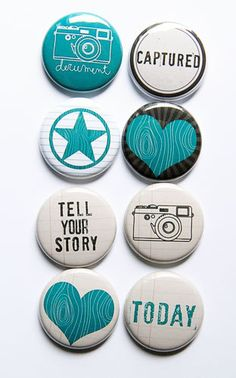 Tell Your Story Flair 2 by kidsmom1999 on Etsy, $6.00