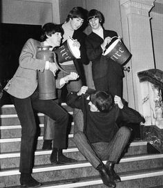 The Beatles at the Empire Theatre, Liverpool on the 8th November 1964
