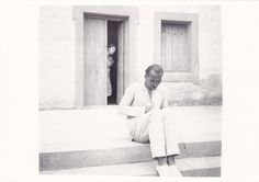 Nikos Kazantzakis in Aegina. 1935