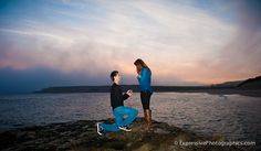 Amazing Place - Amazing Moment! He Popped The Question while on a photo shoot with a professional photographer!