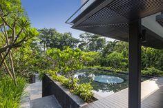 This Secret Garden House in Singapore is full of elegant surprises