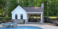 Custom Pool House