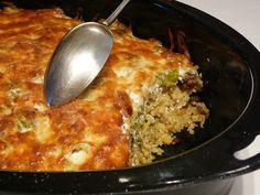 Rakott kel kölessel recept Hungarian Recipes, I Foods, Quinoa, Macaroni And Cheese, Clean Eating, Vegetarian, Lunch, Dinner, Ethnic Recipes