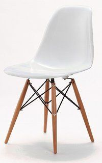 Set of 6 Charles & Ray Eames Style Style DSW Eiffel Dining Lounge Chair (White) x 6 by Lavin Lifestyle, http://www.amazon.co.uk/dp/B005BE4HB8/ref=cm_sw_r_pi_awdl_TJ.ptb107JCHJ
