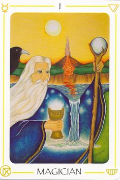 b456568586a6 Bella representación de tarot donde aparecen los 4 elementos agua