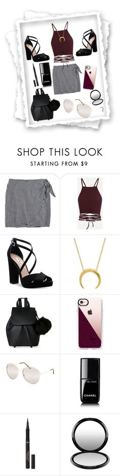 """""""Night out!"""" by m13chlobo ❤ liked on Polyvore featuring Madewell, Nina, IMoshion, Casetify, Full Tilt, Chanel, L'Oréal Paris and MAC Cosmetics"""